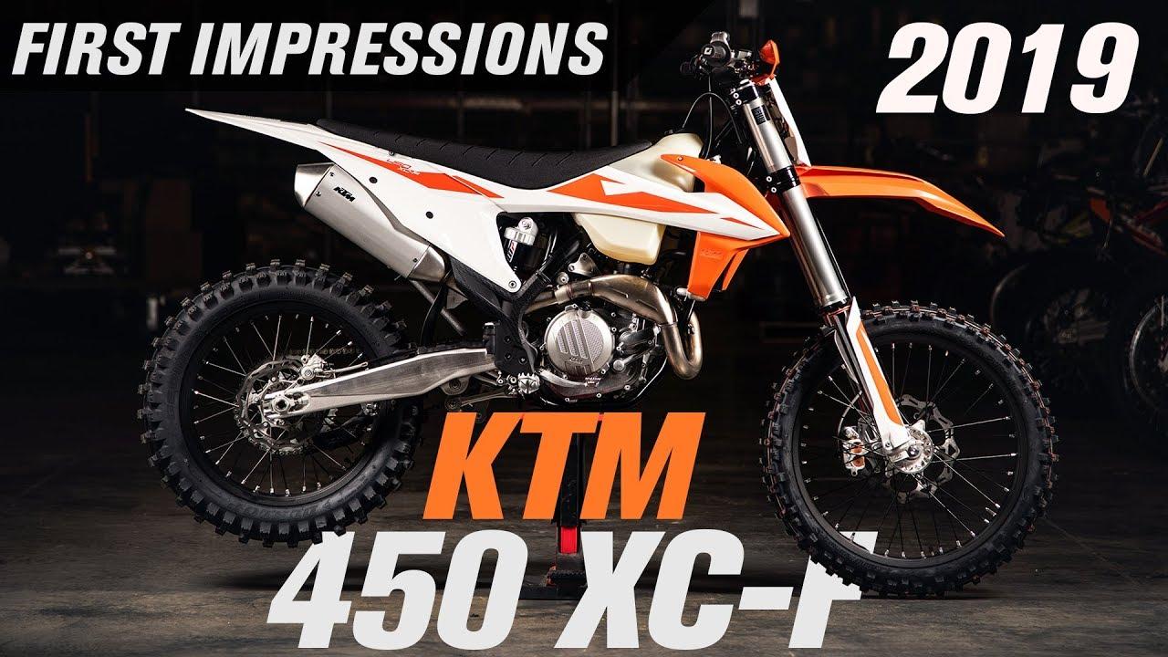 2019 KTM 450 XC-F   First Impressions