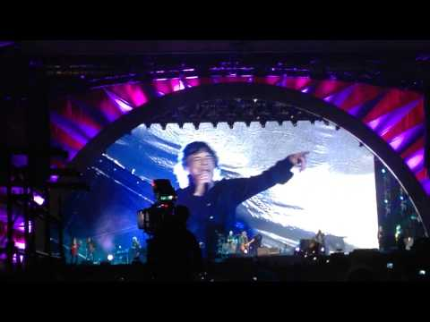 The Rolling Stones   Tumbling Dice 14 On Fire Tour 21 02 14 Abu Dhabi
