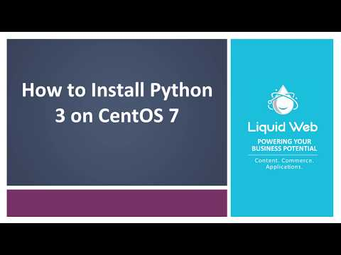 How To Install Python3 On CentOS 7
