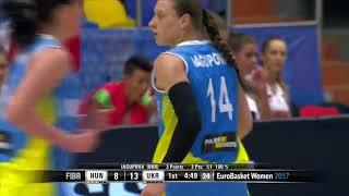 Яліна Ягупова, лідер жіночої збірної України з баскетболу