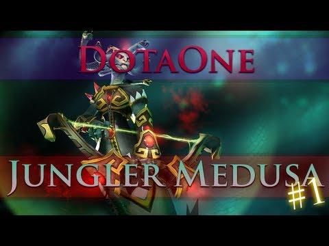 видео: dota 2 - Как фармить медузой лес? #1 | jungler medusa [radiant]