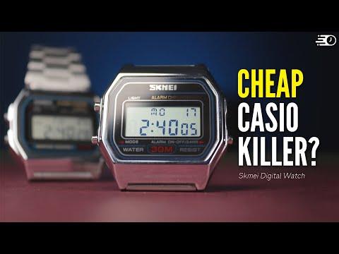 Is Casio REALLY The Best Cheap Watch Brand? - Casio Vs Skmei Digital Watch Battle