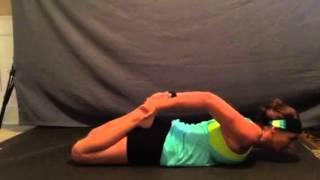Frog Yoga Pose
