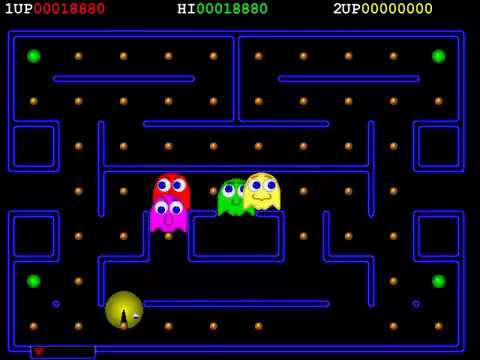 PC VERSION DELUXE PACMAN 1 I By Neil Roy PACMAN PAC MAN CLONE
