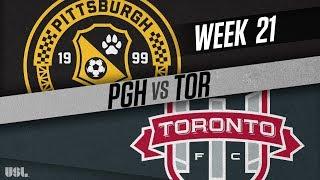 Pittsburgh Riverhounds vs Toronto FC II: August 4, 2018