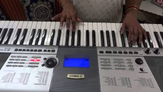 pardeshi pardeshi jana nahi by MANISHA RAGHAV on piano.