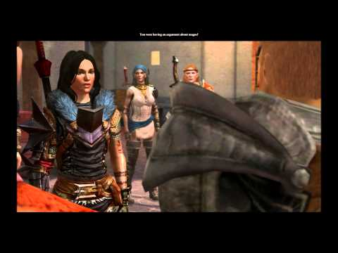 Hawke Meets King Alistair With Warden Queen - Dragon Age 2