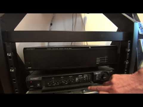 Корвет уп-078с +200ум-088с стереофонический двухблочный усилитель.