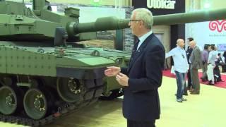 IDEF 2015: The final prototype of the Otokar Altay main battle tank