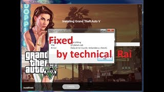 How to fix gta v disk 1 error 100% working