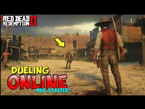 How To Duel Online with Friends In Red Dead Redemption 2 Online  + Dueling With Odd Weapons
