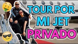 TOUR DE MI JET PRIVADO 😜😂 14 May 2018