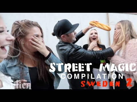 Best Street Magic Compilation Sweden 🇸🇪 - Julien Magic