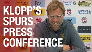 Jrgen Klopp s press conference ahead of Spurs Wembley clash Mane update, Salah and more