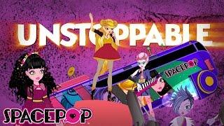 SpacePOP Unstoppable Music Video with Lyrics #readalong | SpacePOPgirls 🎤🌟 Cartoon
