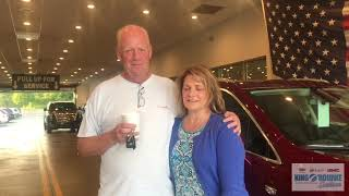Testimonial Review by Kimball and Diane: 2018 Cadillac XT5 at      King Orourke in Smithtown NY