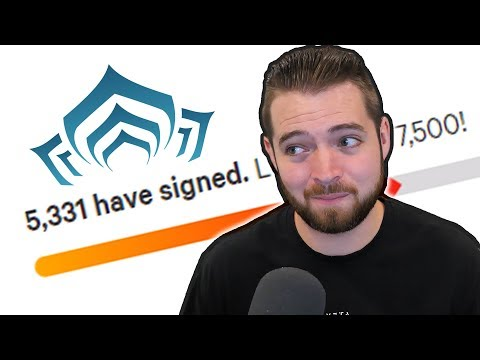 Update on the Warframe Petition Video thumbnail