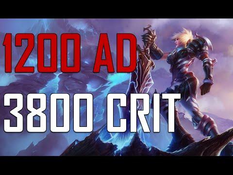 1200 AD RIVEN - 3800 CRIT [ Yeni AD Eşyası ]