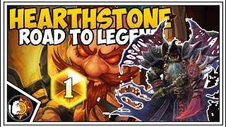 Hearthstone: Rank 1 Grind - Control Warlock