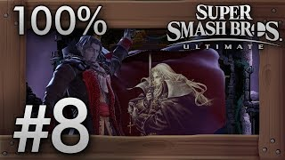 Super Smash Bros. Ultimate: World of Light Part 8 - Dracula's Castle - 100% Walkthrough