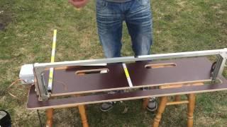 як зробити верстат для різання пінопласту своїми руками