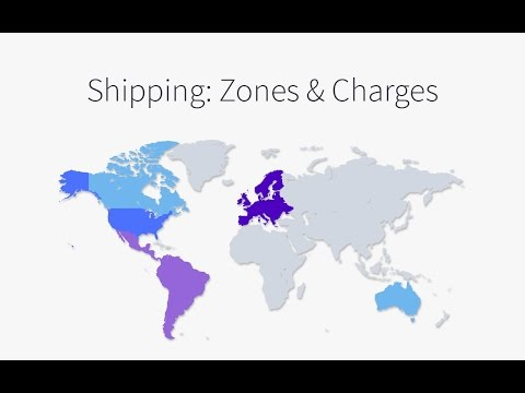 Shipping: Zones & Charges | BigCommerce Tutorials