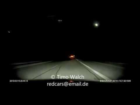 Meteorit, Satellit über Süddeutschland 15.3.2015