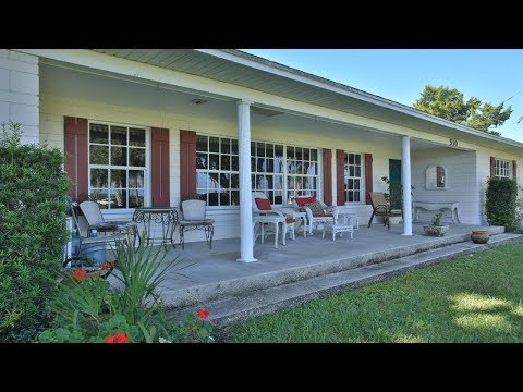 Waterfront Pool Home For Sale On Intracoastal Waterway in Edgewater FL