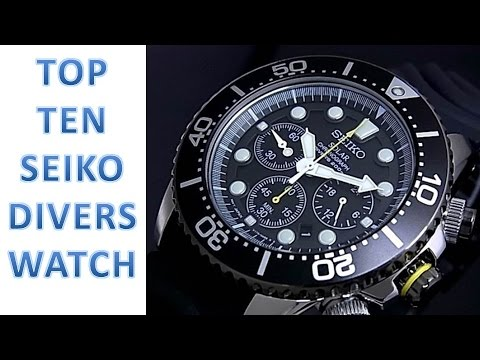Top Ten Seiko Divers Watches