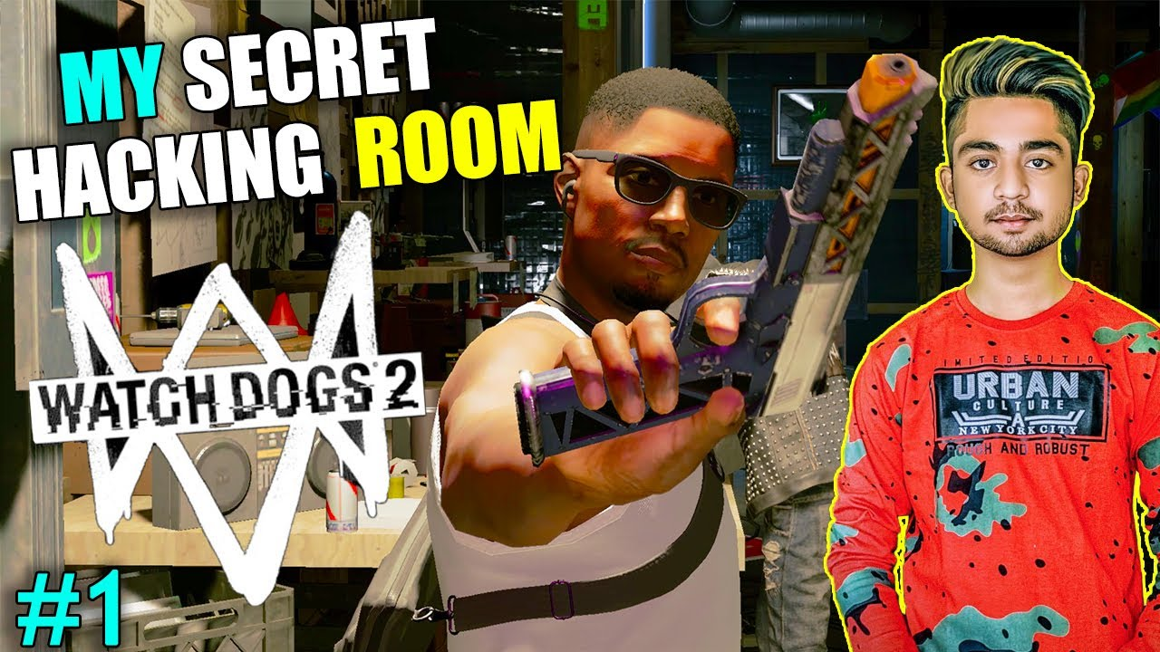 NEW SECRET HACKING BASE LOCATION | I AM HACKER IN WATCH DOGS 2 | WATCH DOGS 2 Gameplay #1