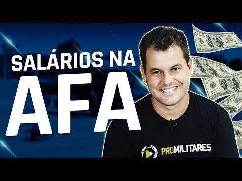 SALÁRIOS NA ACADEMIA DA FORÇA AÉREA (AFA)