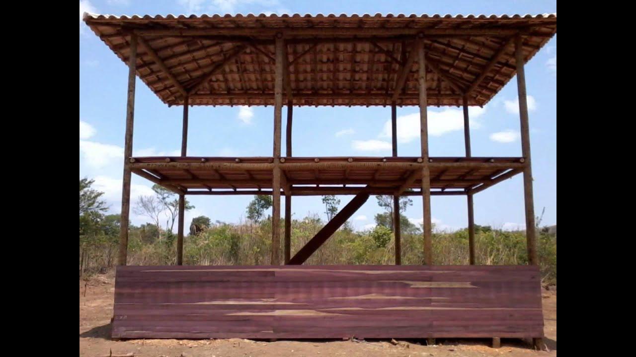 Construção casa de madeira Parte II   #1661B5 1440x1080