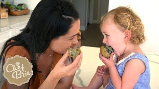 Chef Brie's BLUEBERRY MUFFINS are Birdie approved!