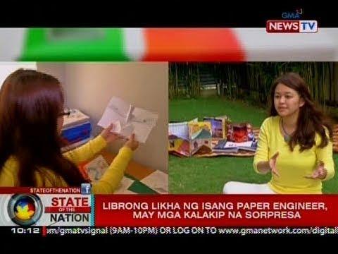 SONA: Librong likha ng isang paper engineer, may mga kalakip na sorpresa