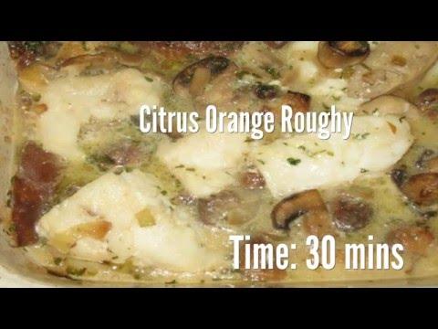 Citrus Orange Roughy Recipe