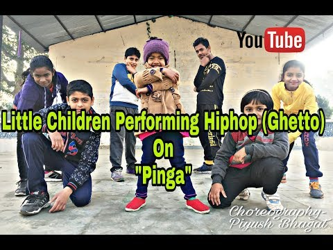 "Super Cute Childrens Performing HipHop on ""Pinga"" for the 1st time!! 