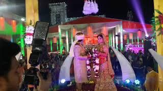 New wedding  Water Fountain jaymala theme concepts