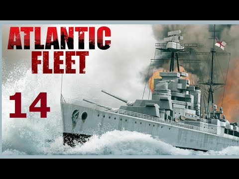 Atlantic Fleet | Let's Play Germany - 14 Evenly Matched