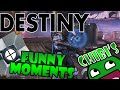 Destiny Funny Moments Ep.10 I've FALLEN, POE Glitch, Body Launching!