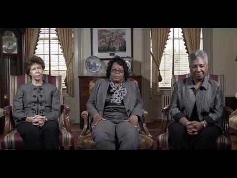 Janet Brown Strafer, Karen Ely, & Lynn Briley, W&M Class of 1971