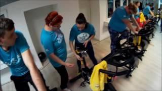Win4Youth: Gabriela Szabo a pedalat pentru Robert Cadar