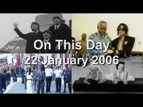 On This Day: 22 January 2006