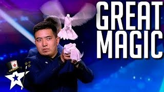 Magician Brothers Perform Mystery Magic on Central Asia's Got Talent | Magicians Got Talent Video