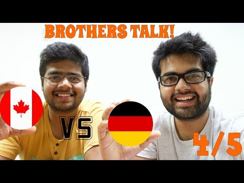 LIVING ENVIRONMENT in Canada vs Germany (4/5): Brothers share Personal Experiences