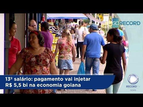 13º salário: pagamento vai injetar R$ 5,5 bi na economia goiana