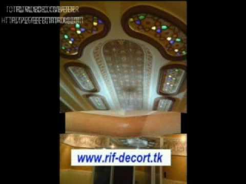 Stucco peinture decoration chahid youtube for Decoration jibs