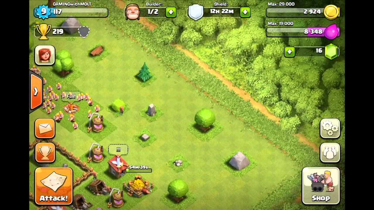 clash of clans how to switch accounts youtube. Black Bedroom Furniture Sets. Home Design Ideas