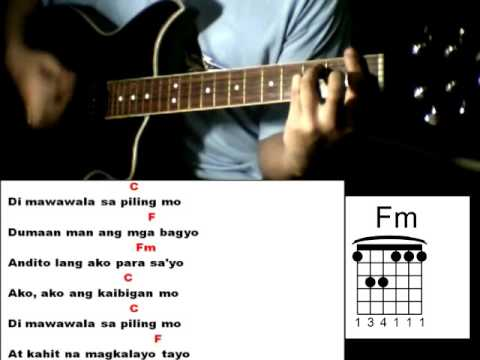 Kaibigan Mo Sarah G Feat Yeng Constantino Guitar Chords Youtube