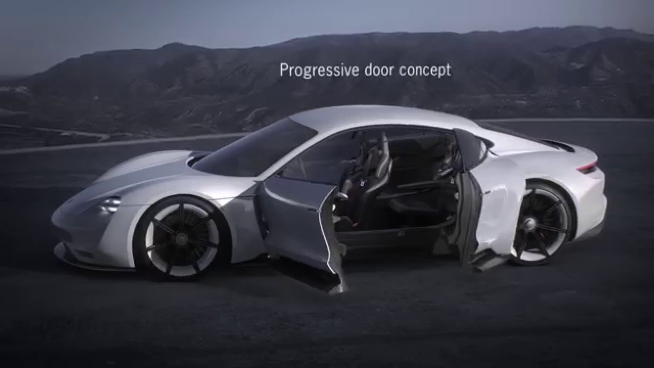 Porsche Mission E Concept All Wheel Drive Dual Motor Electric