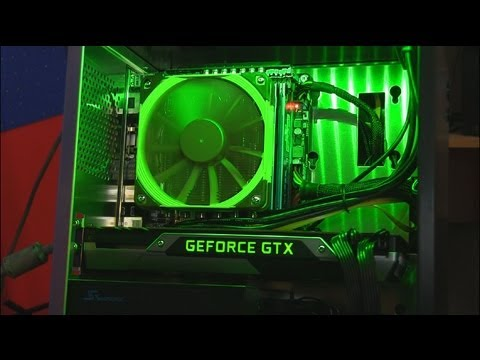 GTX Titan Small Form Factor Gaming PC Build Guide Linus Tech Tips